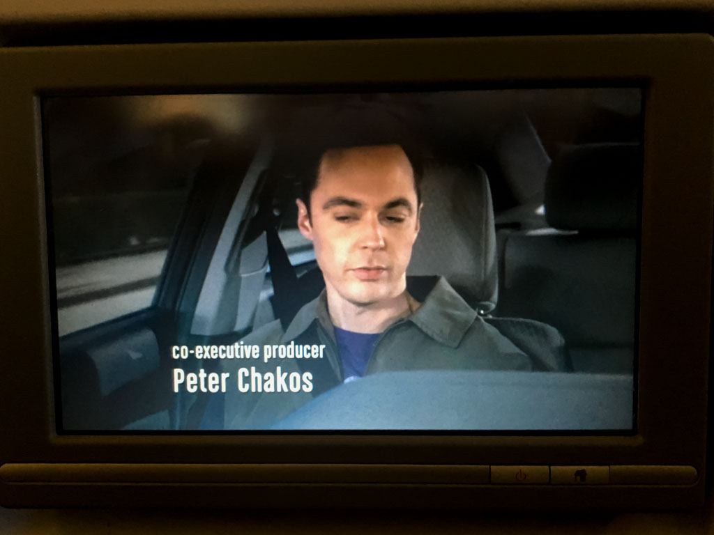The Big Bang Theory Onboard British Airways