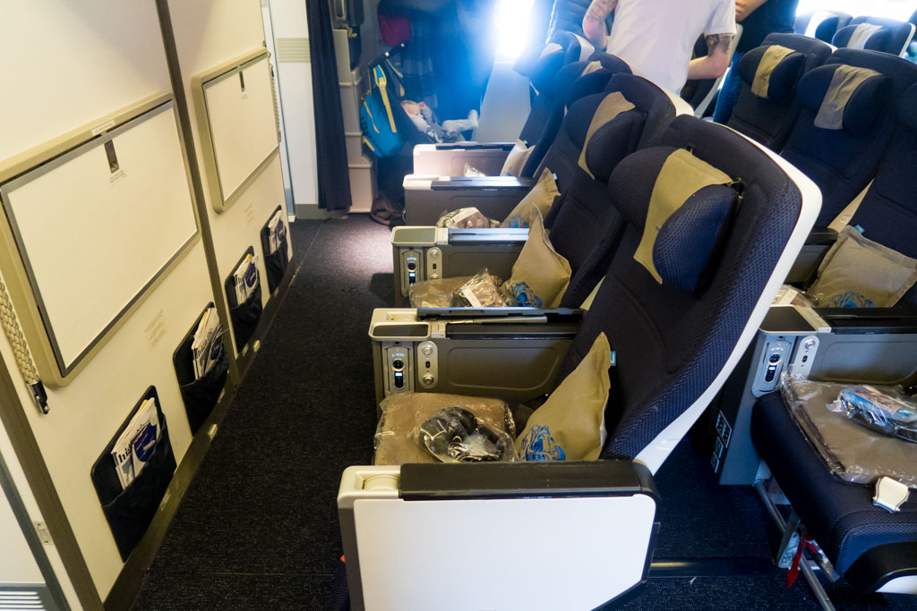 British Airways World Traveller Plus Premium Economy Class