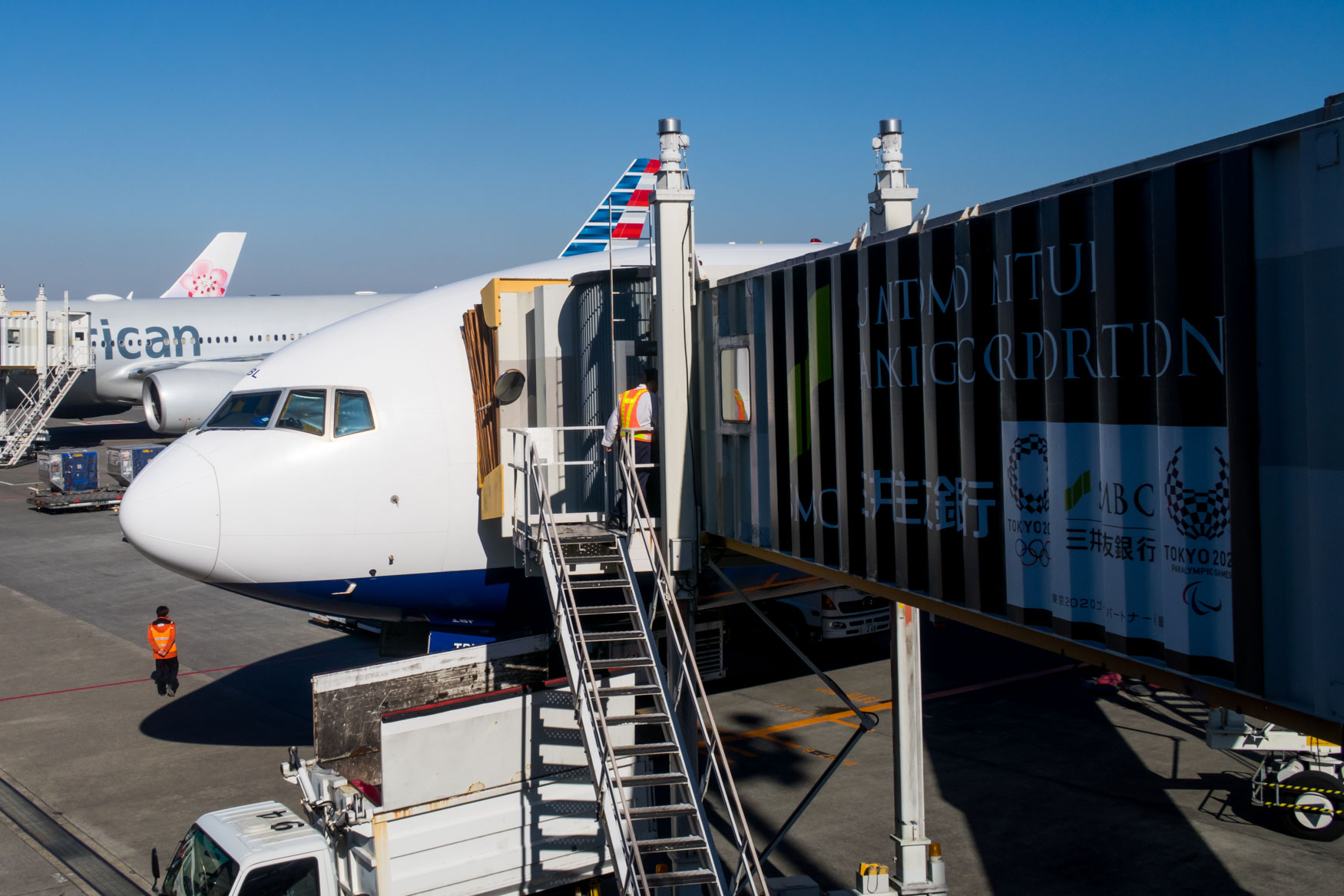 British Airways 777-300ER at Tokyo Narita