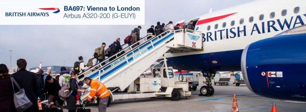 Flight Review: British Airways A320 Economy Class from Vienna to London Heathrow