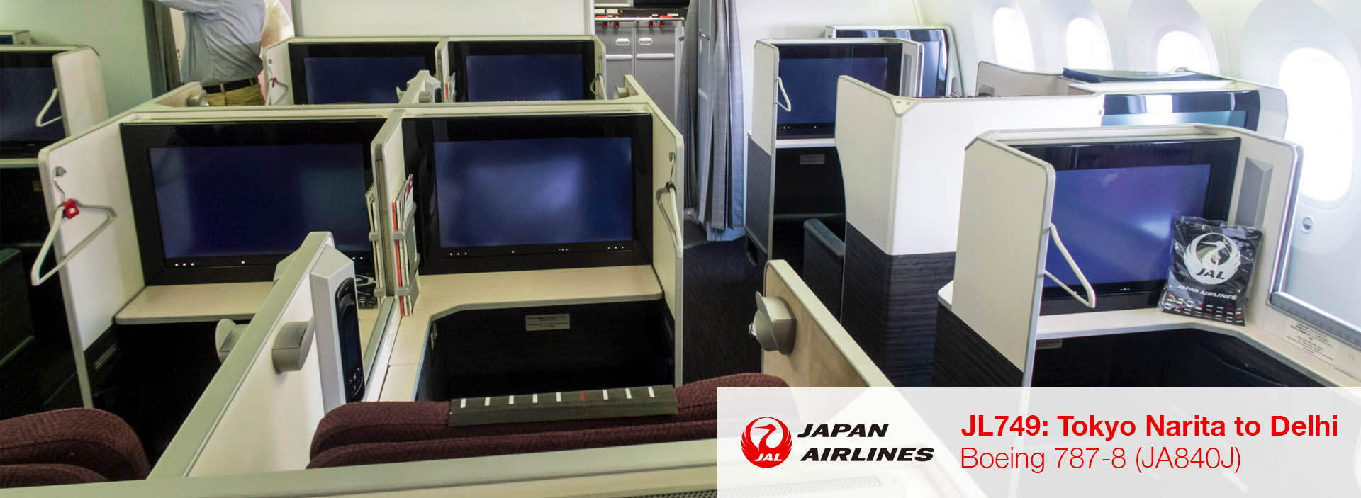 Flight Review: JAL 787-8 Apex Suite Business Class from Tokyo Narita to Delhi