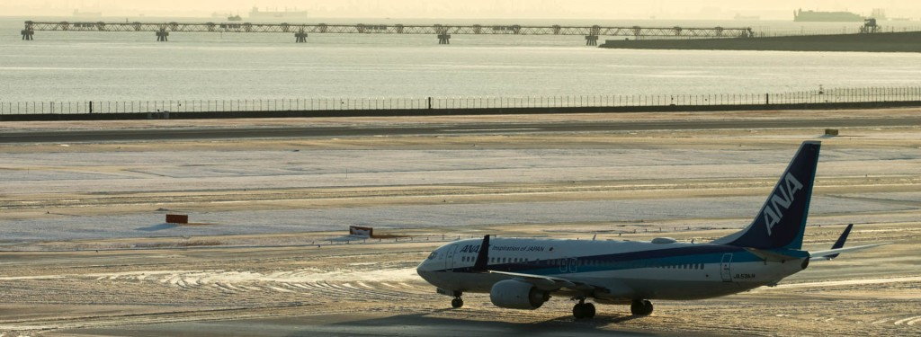 Spotting Report: Early Morning at Haneda After The Biggest Snowfall Since 2014