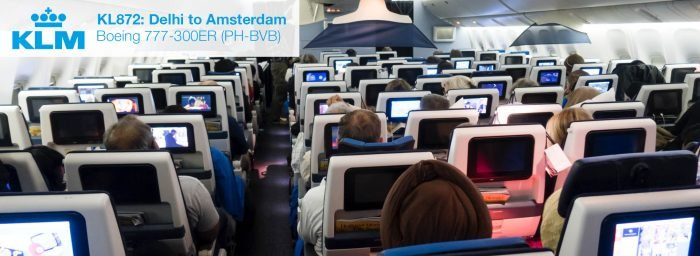 Flight Review: KLM 777-300ER Economy Class from Delhi to Amsterdam
