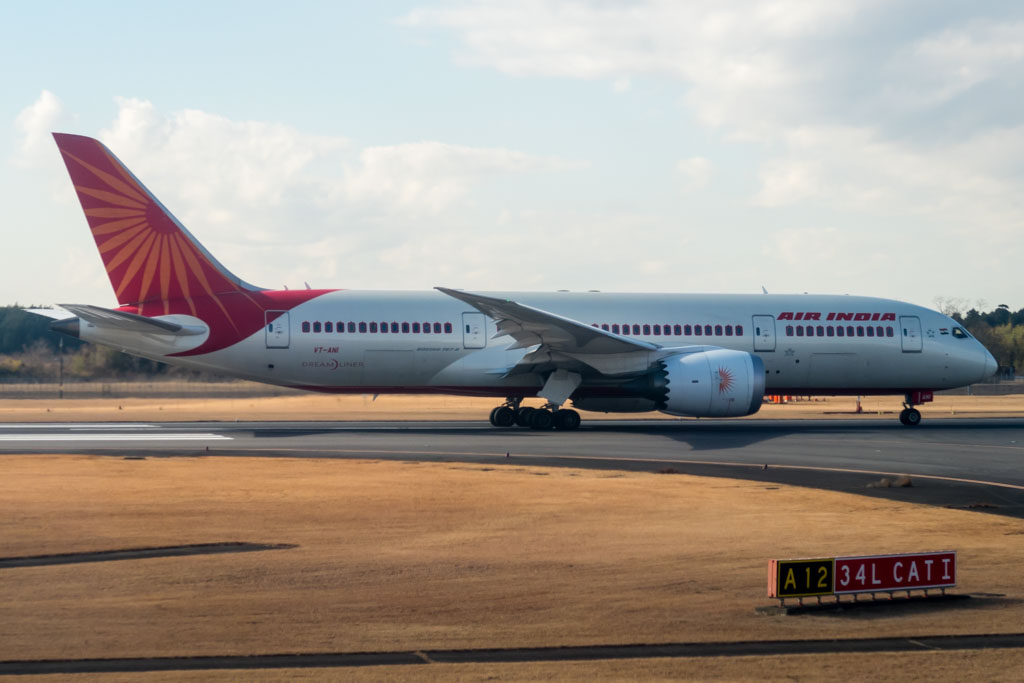 Air India 787-8 to Delhi