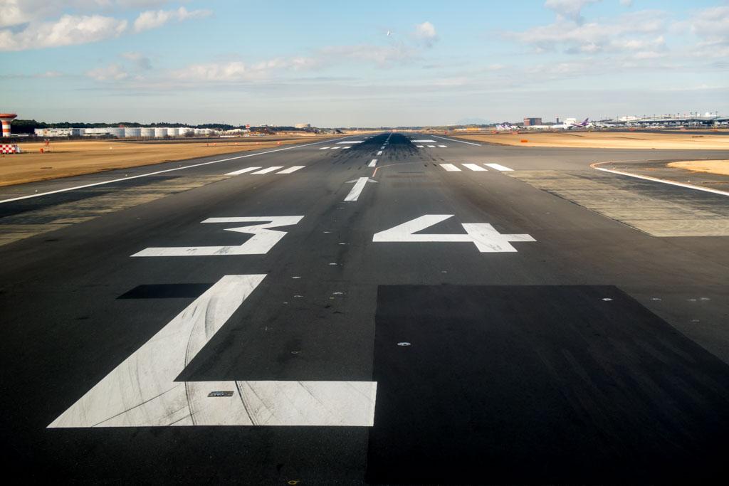 Tokyo Narita Runway 34L