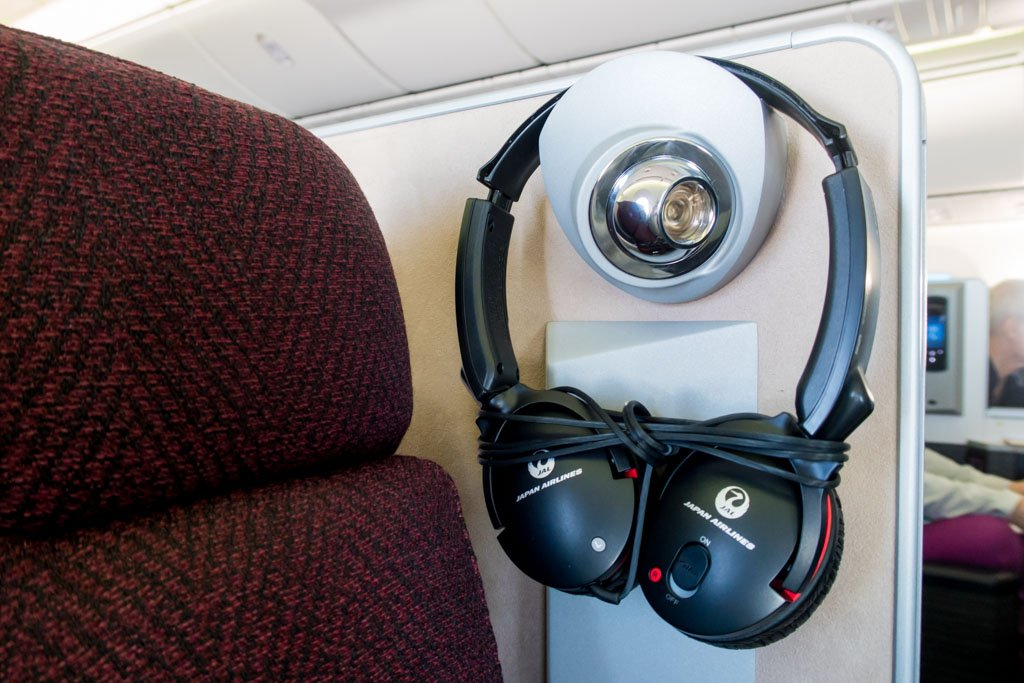 JAL Noise Cancelling Headset
