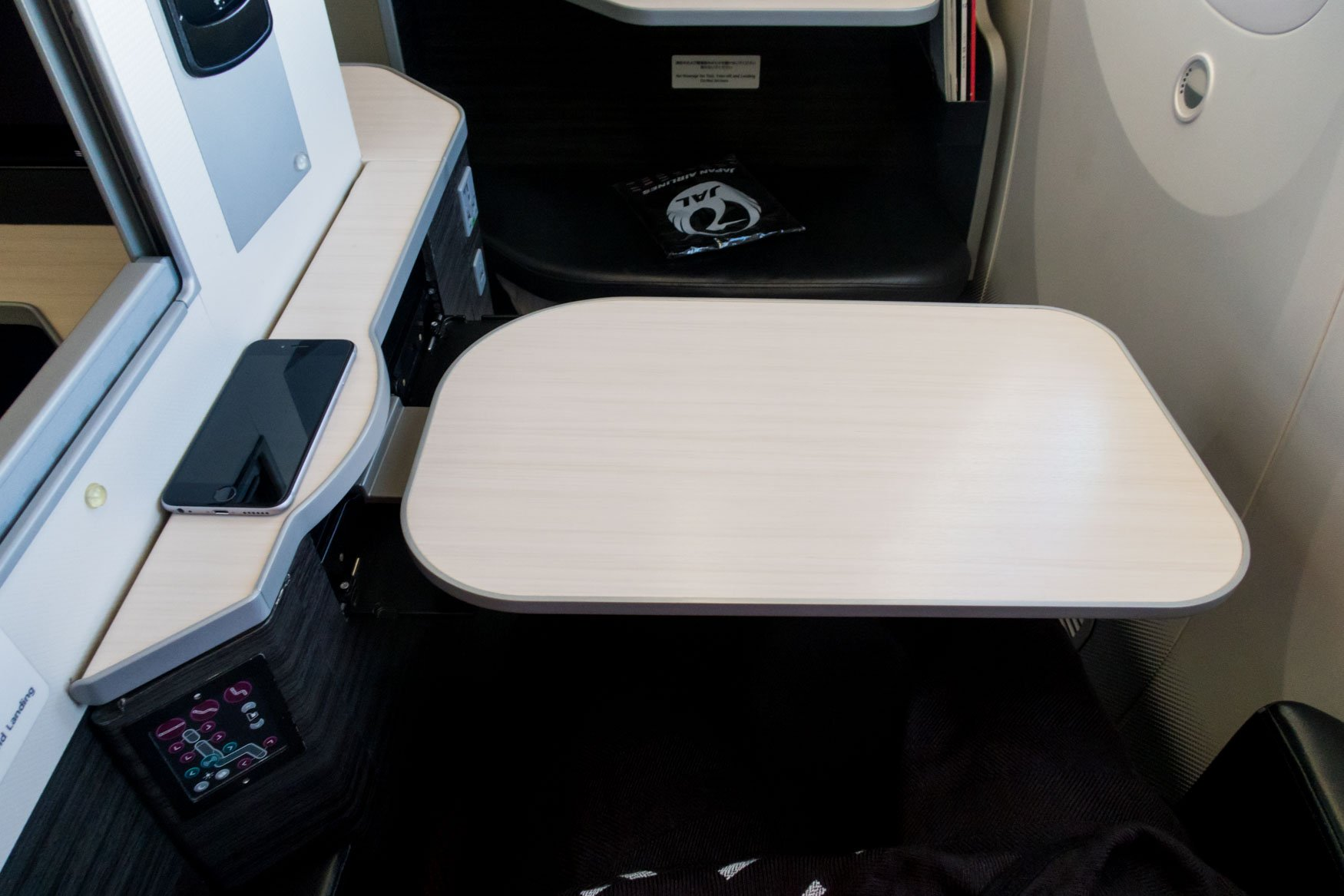 Japan Airlines Apex Suite Tray Table