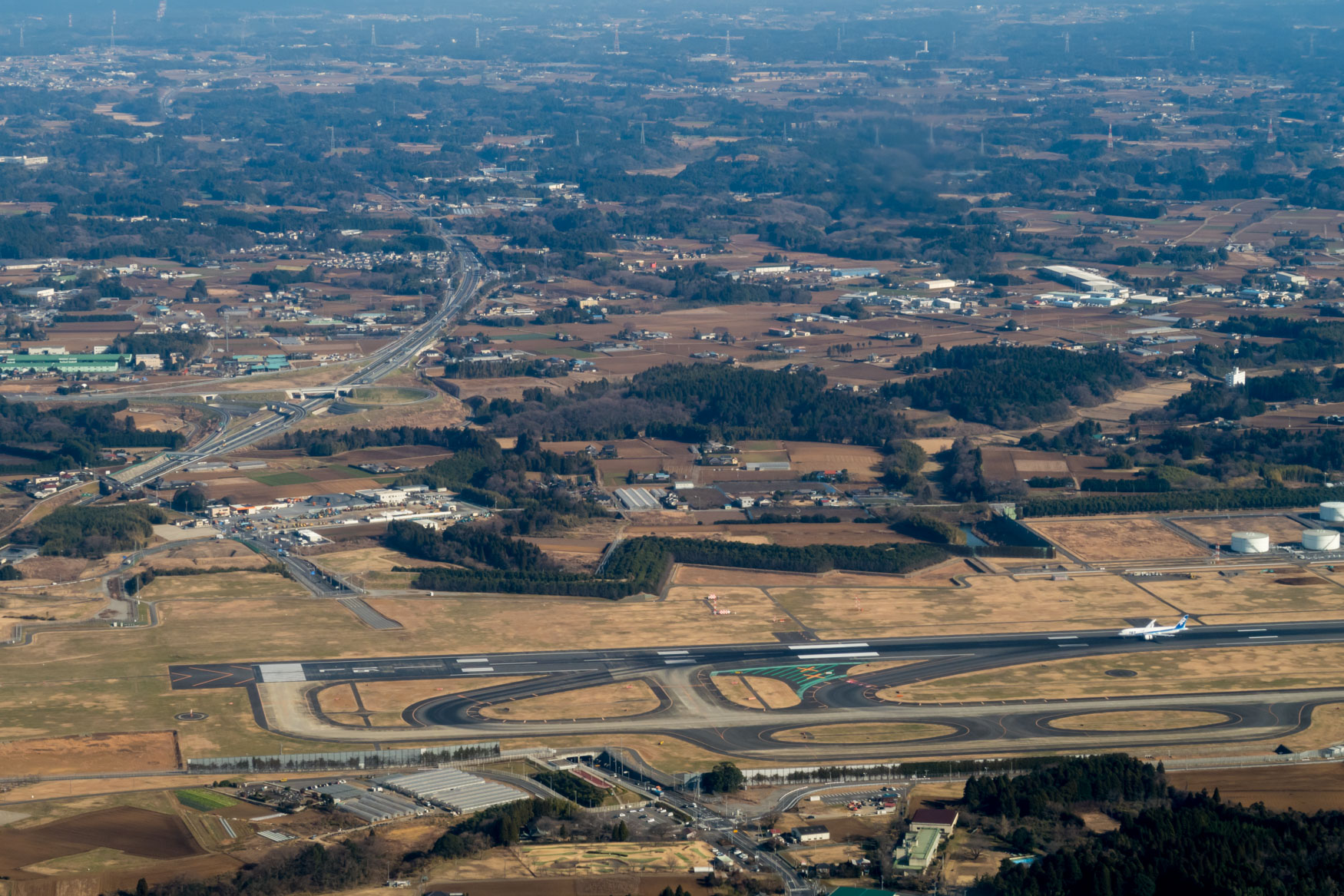 Tokyo Narita Runway 16R/34L