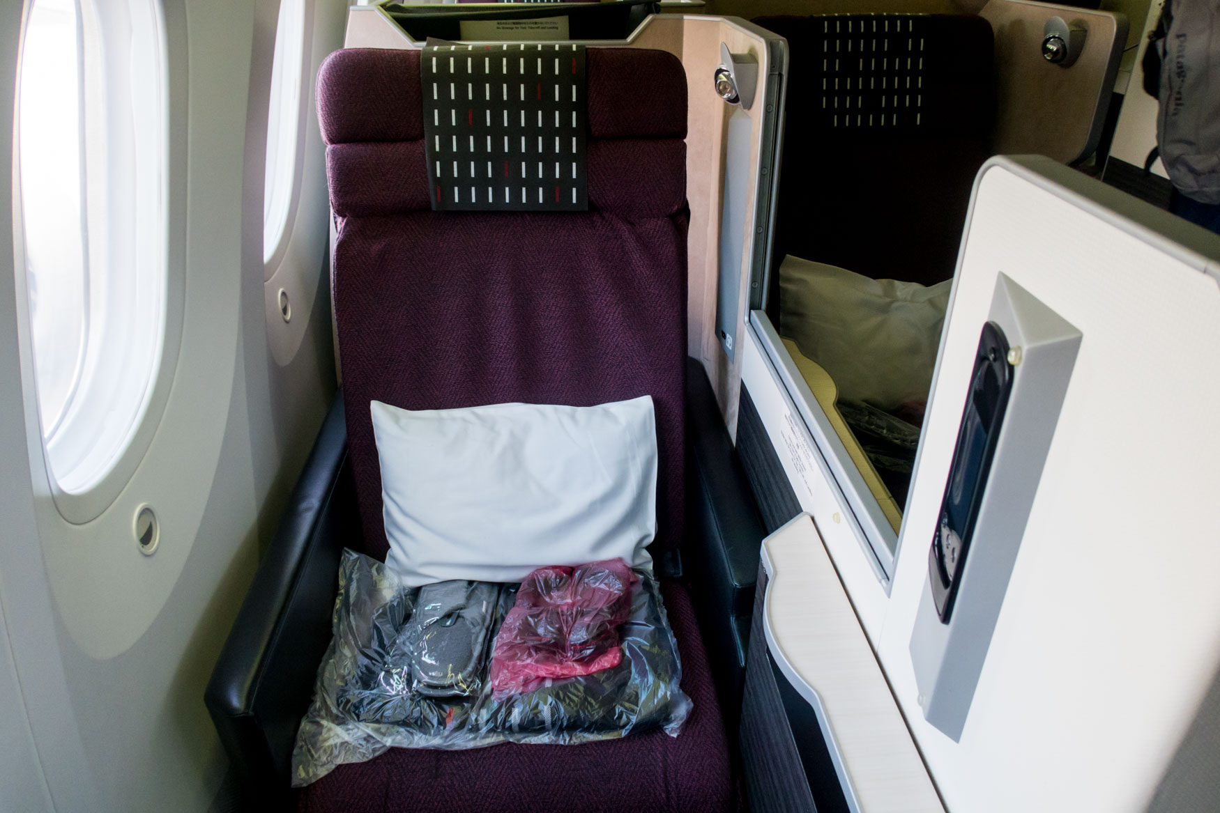 Japan Airlines Business Class Seat 787-8