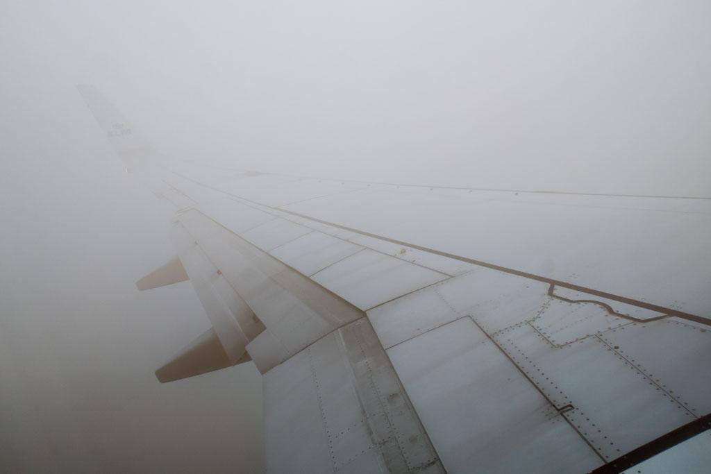 Climbing Through Fog