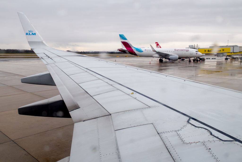 In-Blocks at Vienna Airport