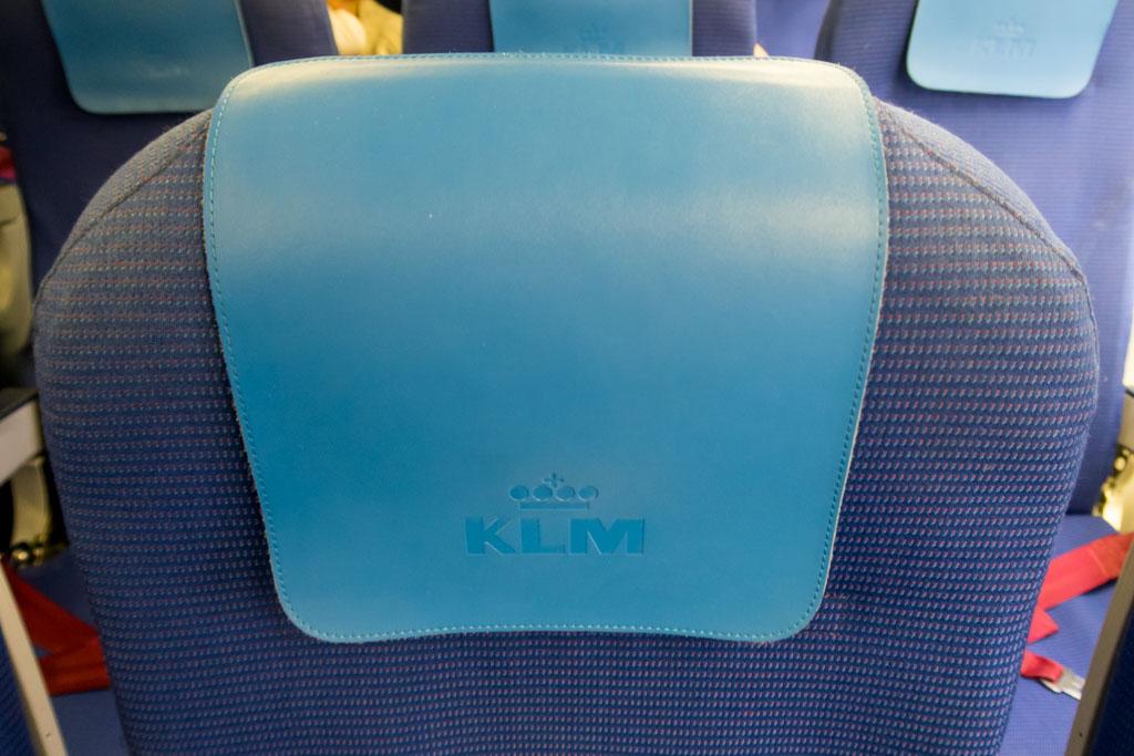 KLM Headrest Cover
