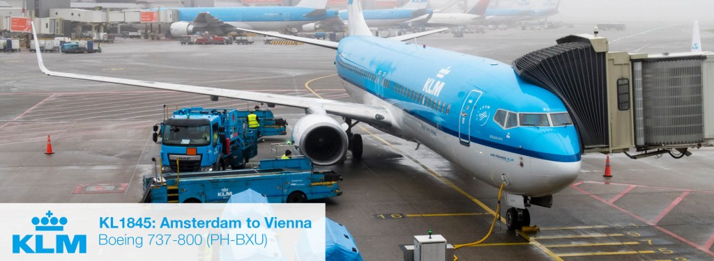 Flight Review: KLM 737-800 Economy Class from Amsterdam to Vienna