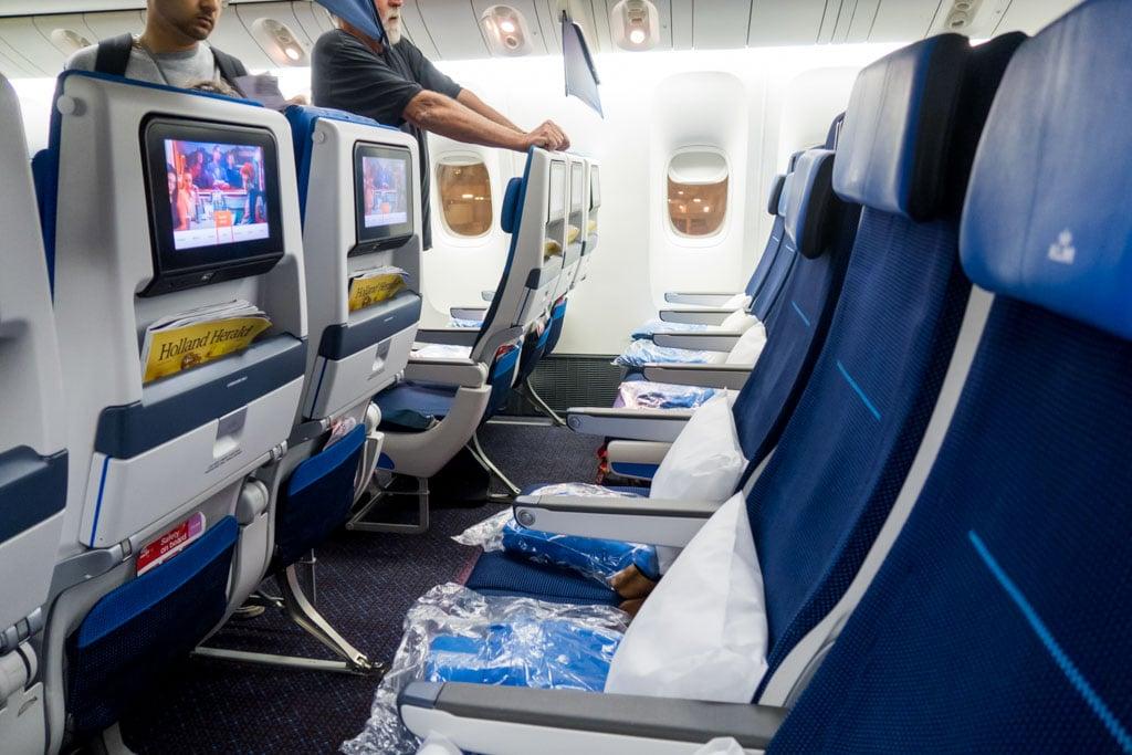Flight Review Klm 777 300er Economy Class From Delhi To