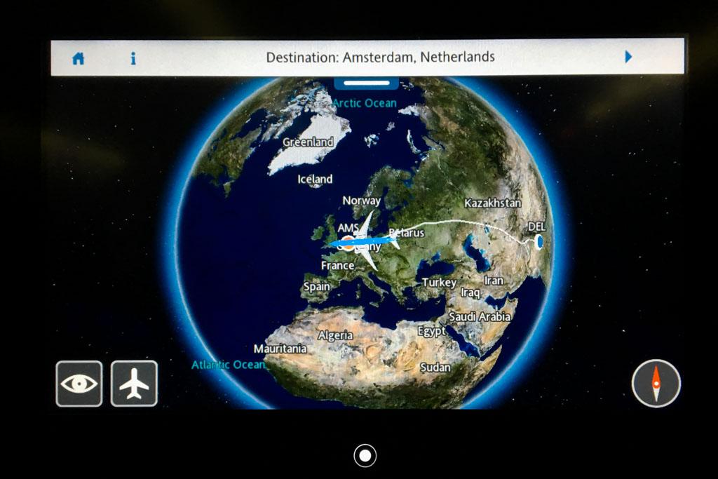 KLM Airshow Map