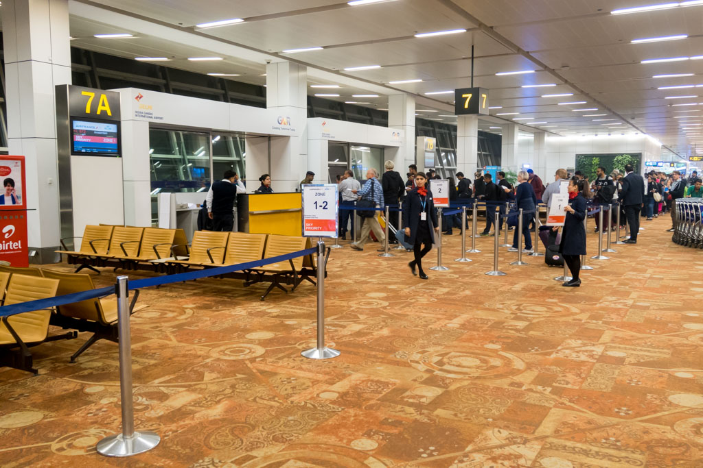 Delhi Airport Gate 7