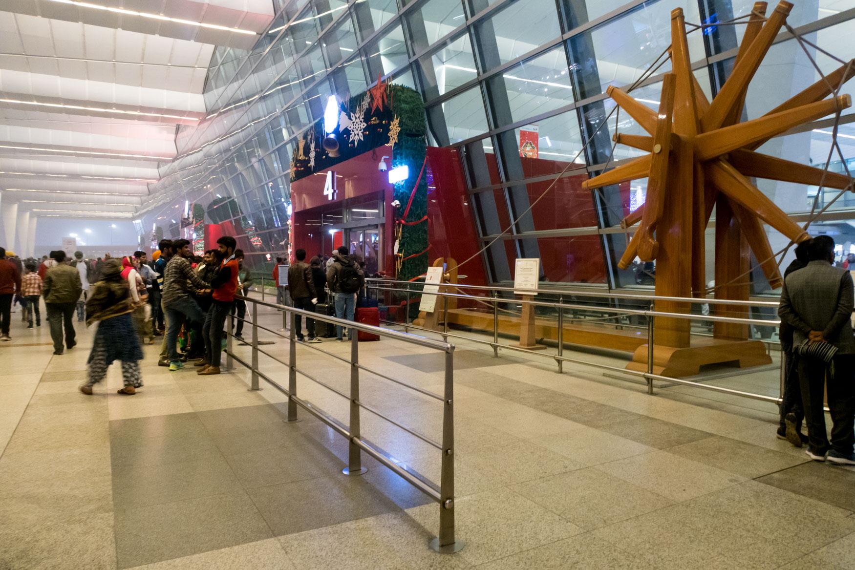 Delhi Airport Terminal Entrance