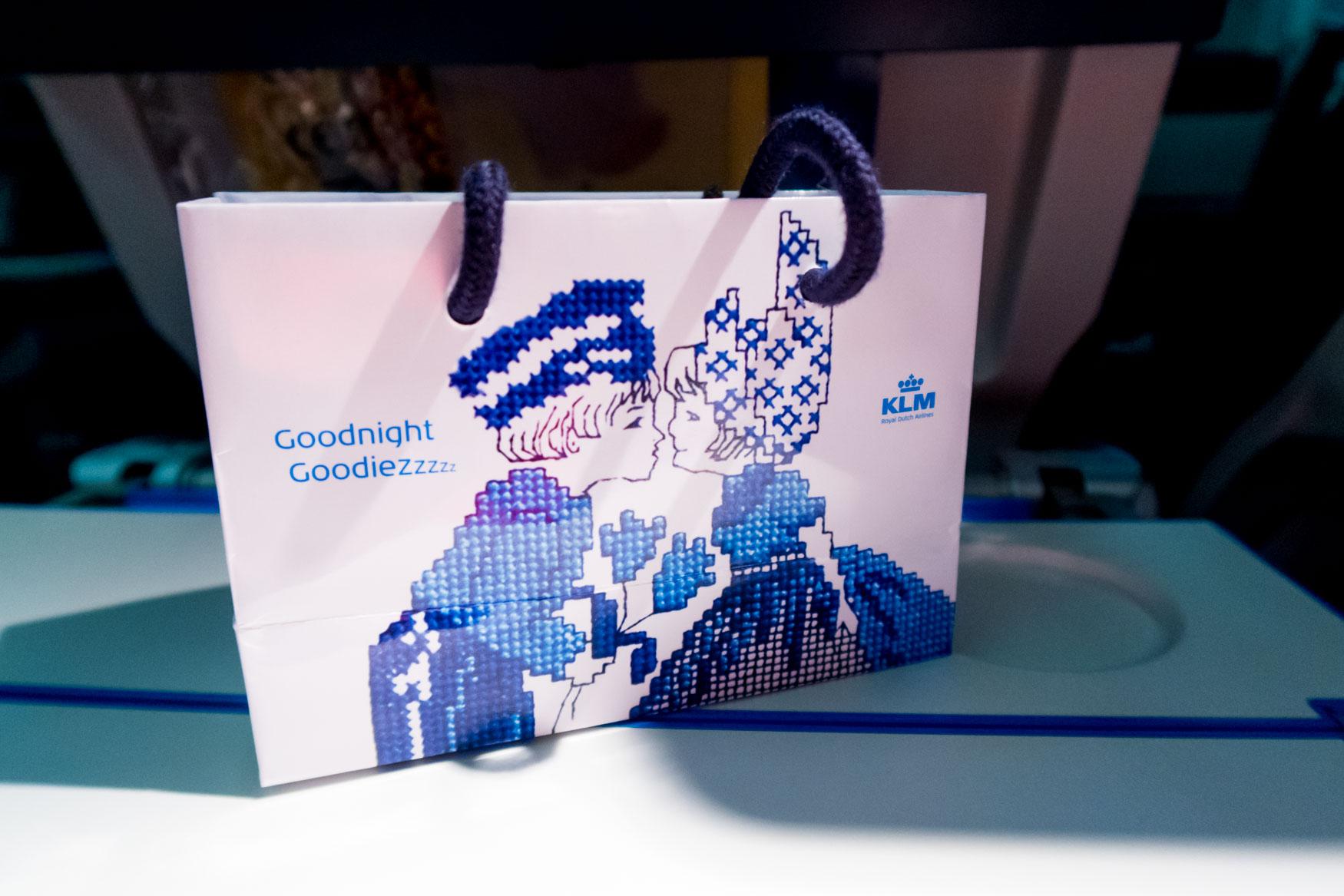 KLM Goodnight GoodieZzzzz
