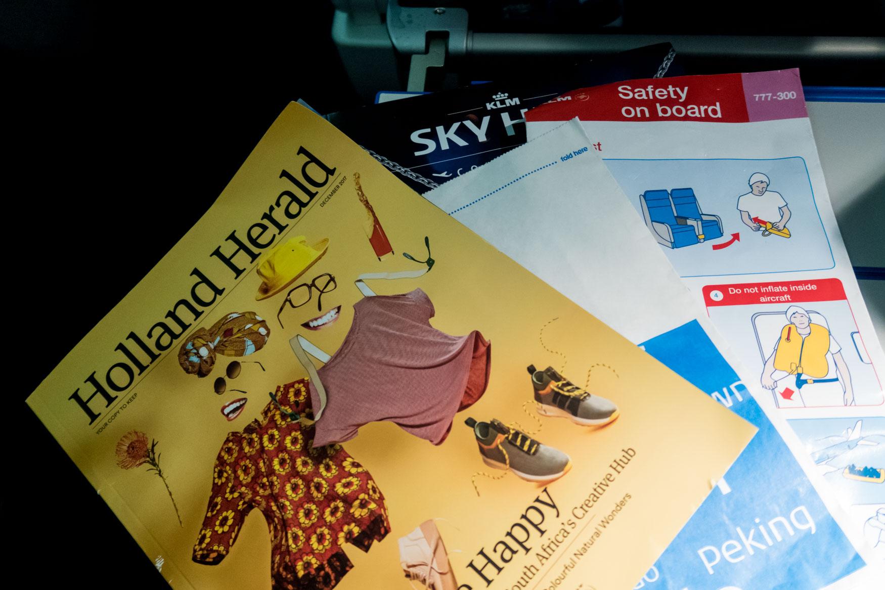 Holland Herald KLM In-Flight Magazine