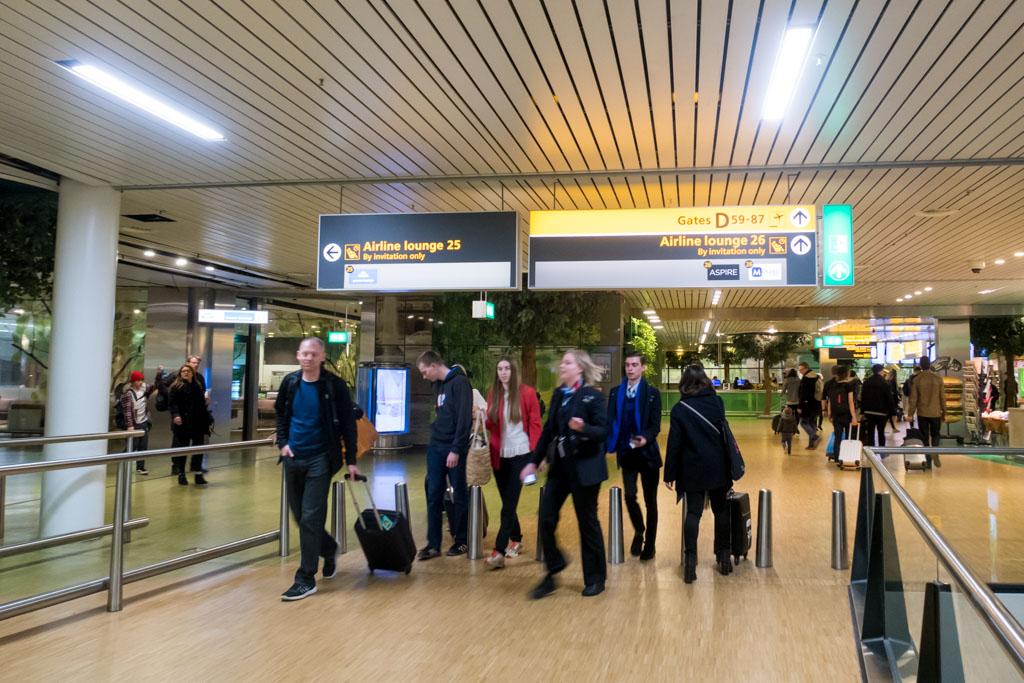 Amsterdam Airport Terminal