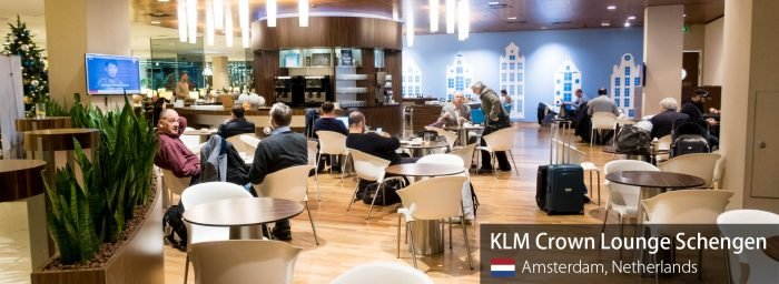 Lounge Review: KLM Crown Lounge Schengen at Amsterdam Schiphol