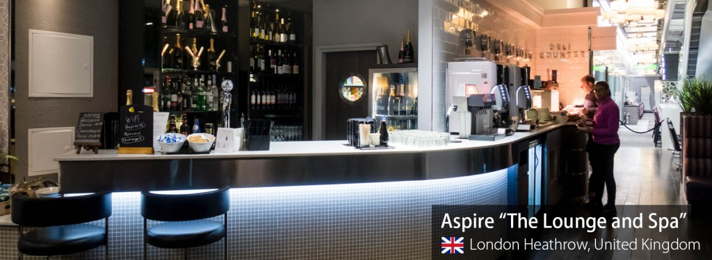 Lounge Review: Aspire The Lounge and Spa at London Heathrow