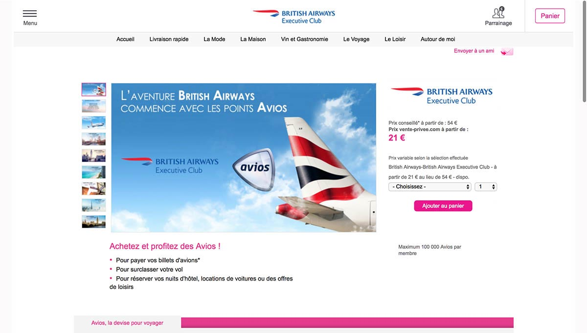 Buying Avios Through Vente-Privee for Use on JAL Domestic Flights