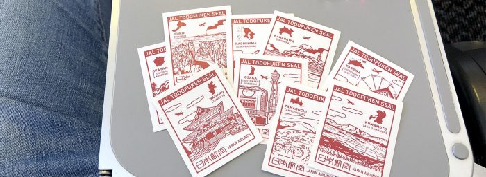 JAL Prefecture Stickers: A Nice Gesture and Something I Wish Other Airlines Would Get Inspired By