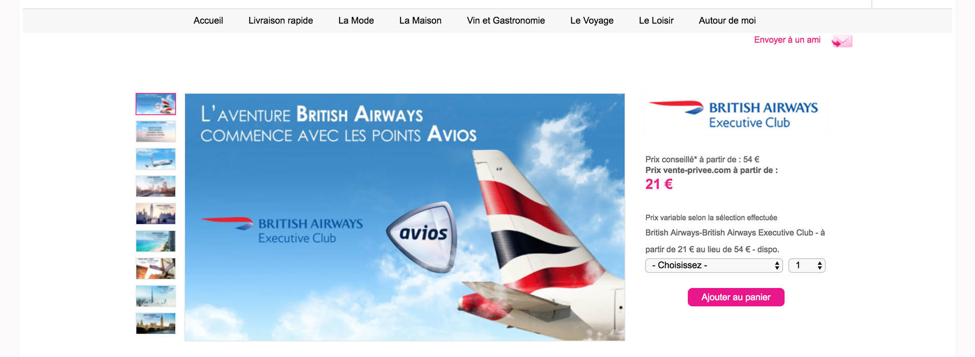 A Guide to Buying Avios Miles for 1.14 Eurocent per Mile Through Vente-Privee