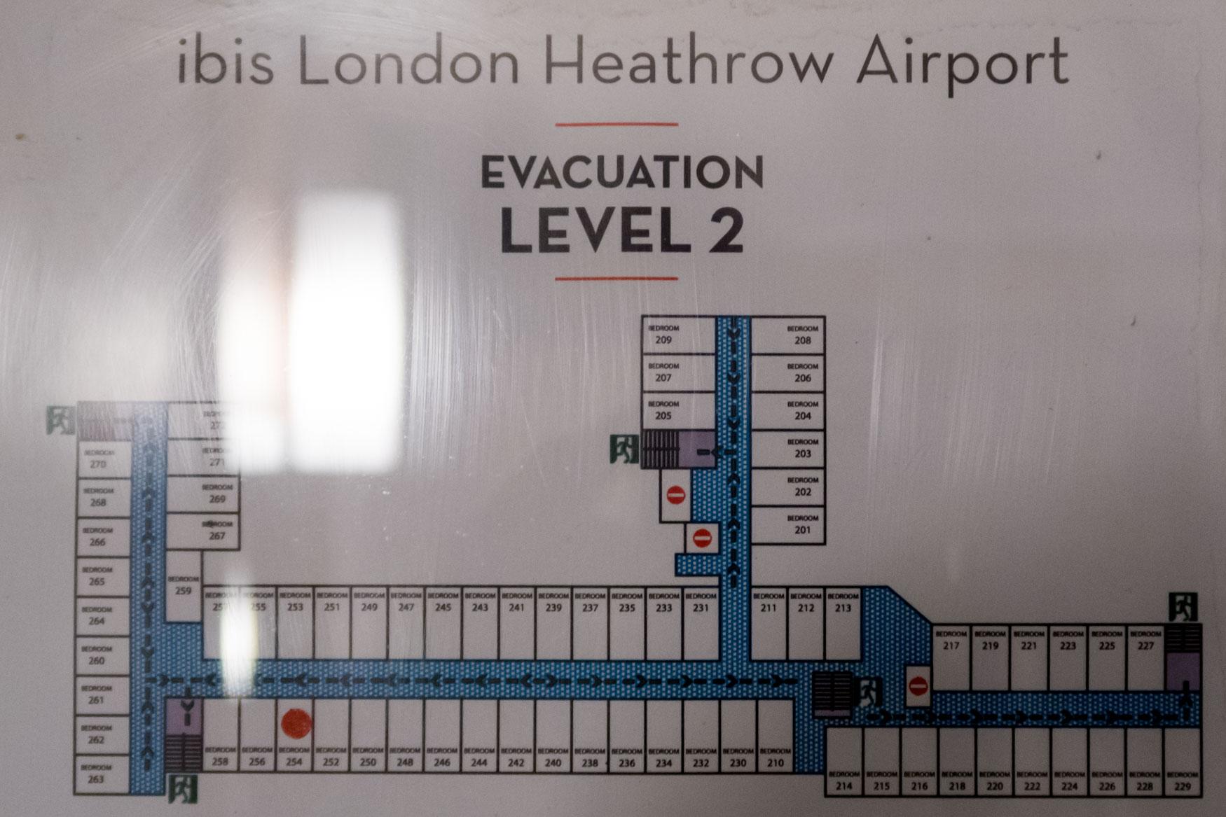 Ibis London Heathrow Floor Plan