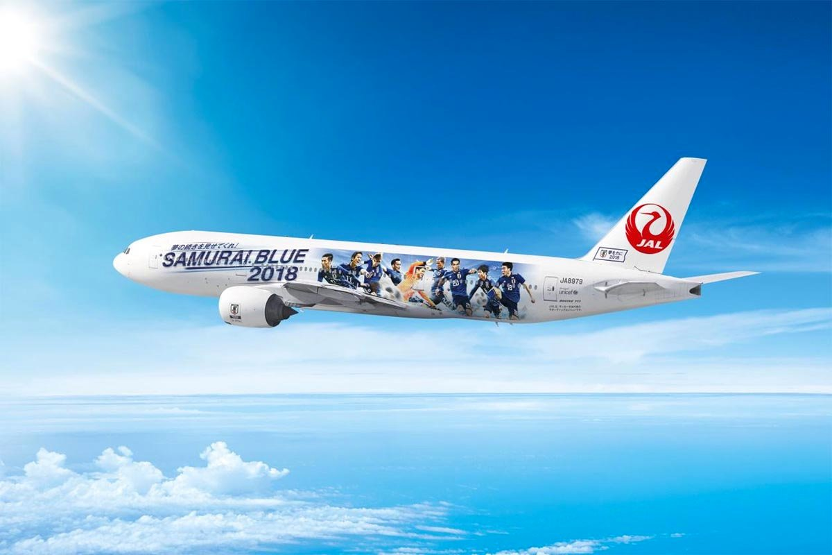 Japan Airlines SAMURAI BLUE Support Jet No. 1