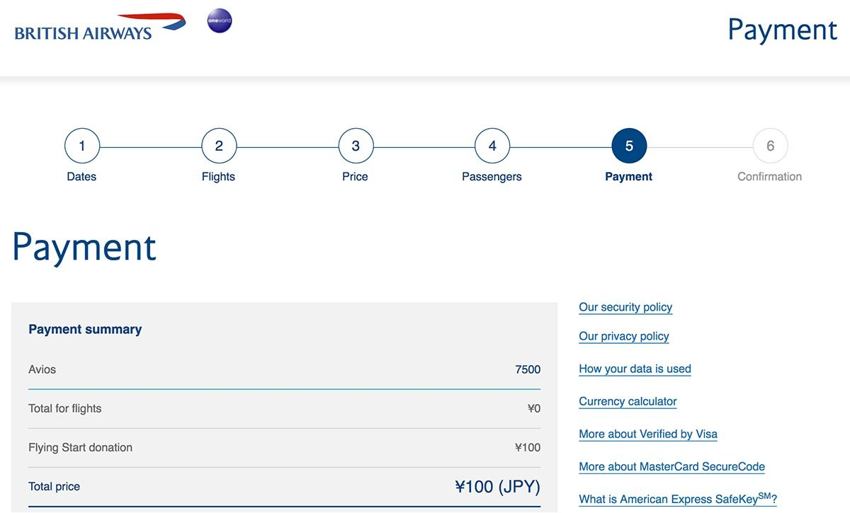 Donate to British Airways' Causes to Get Around a Booking Error with Avios