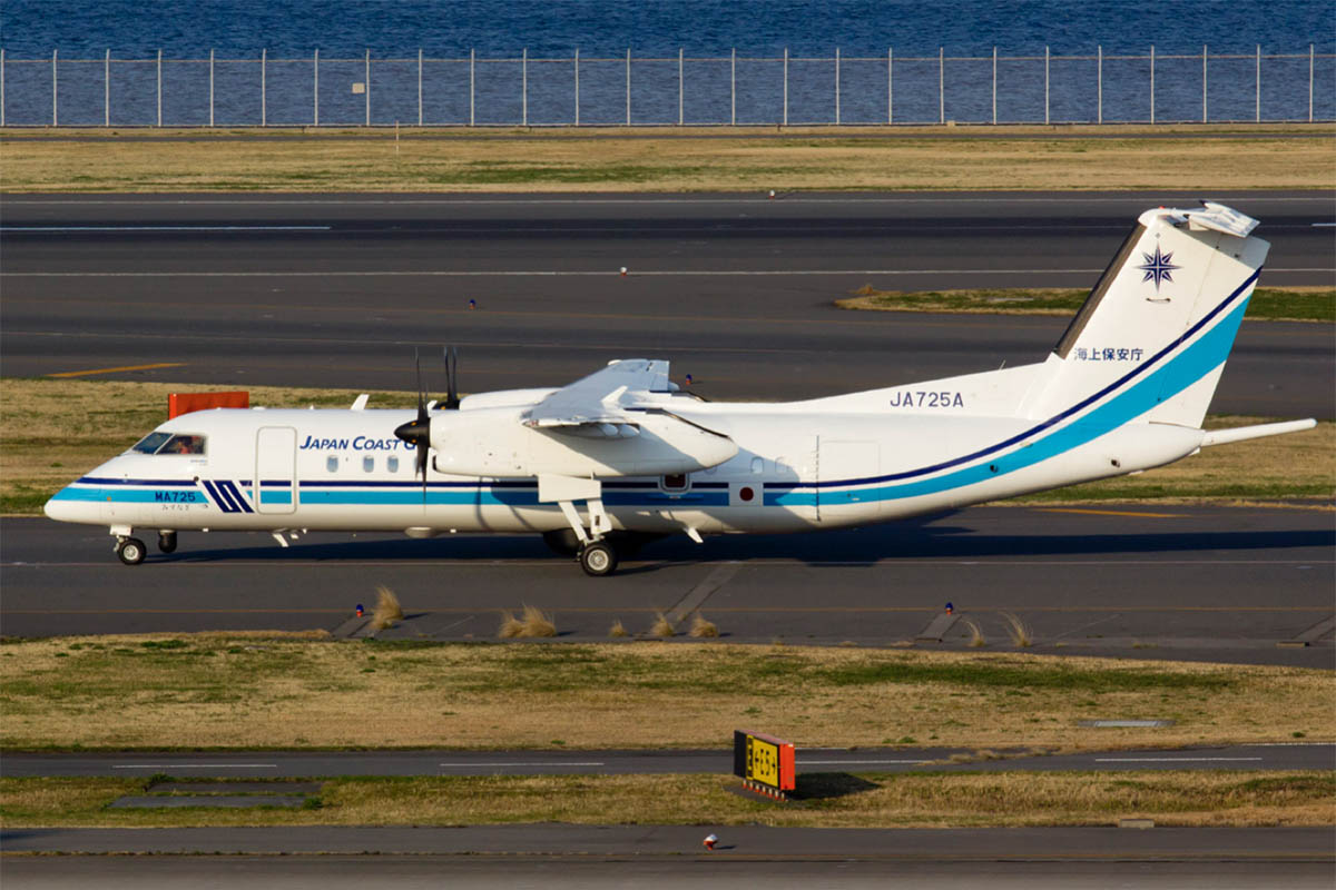 Japan Coast Guard DHC-8-Q300