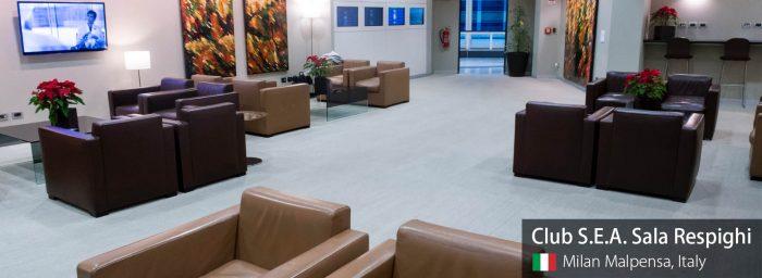 Lounge Review: Club S.E.A. Sala Respighi at Milan Malpensa