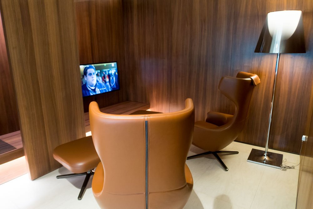 Qatar Airways Arrival Lounge Relaxation Room