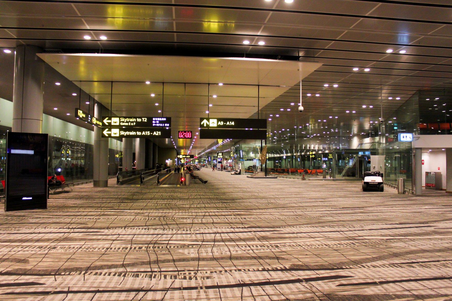 Singapore Changi Airport Terminal