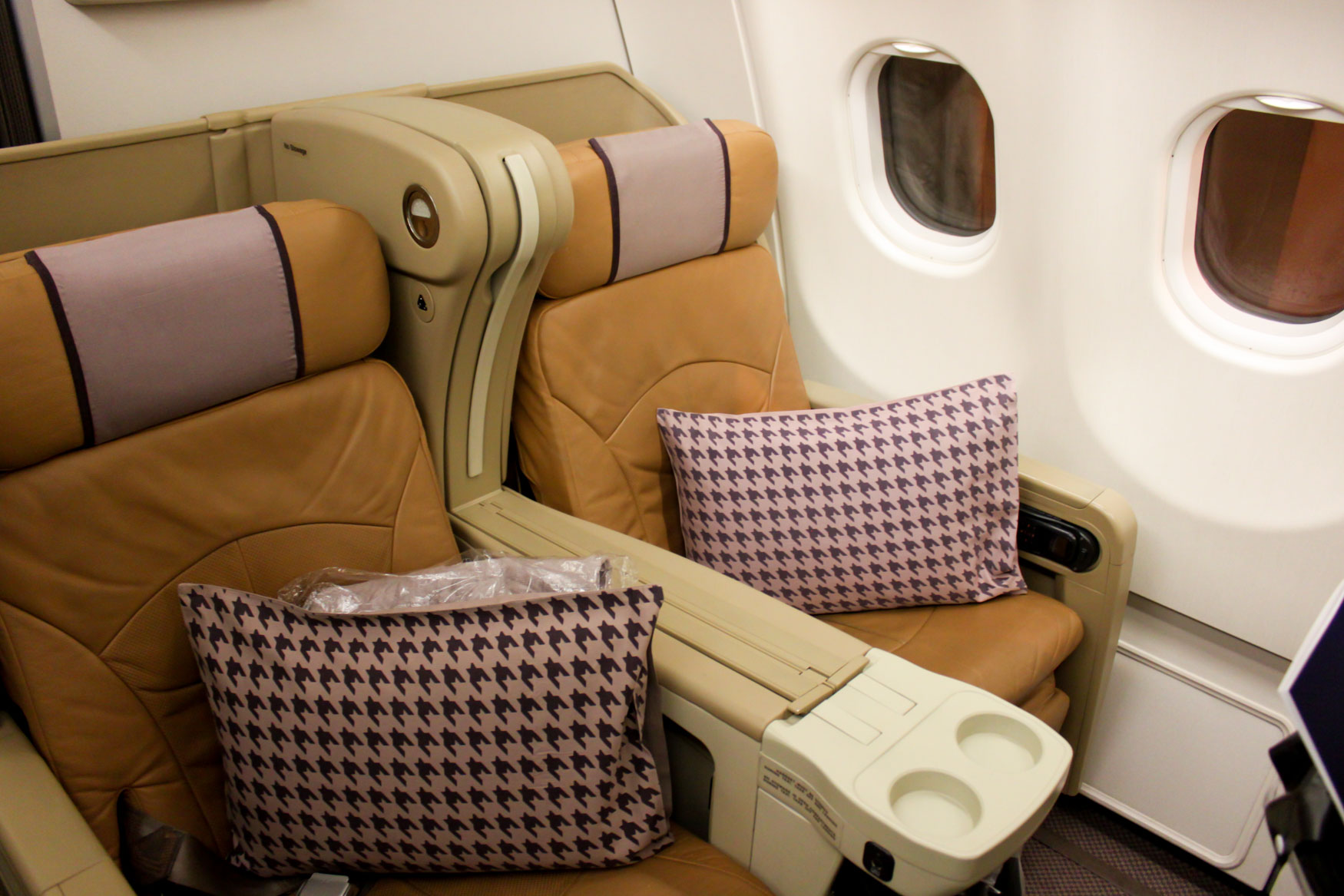 Singapore Airlines A330-300 Regional Business Class Seats