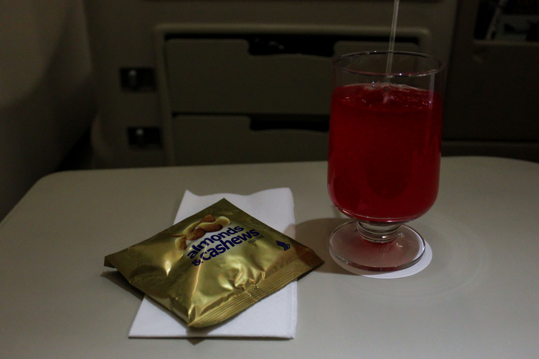 Singapore Sling and Nuts