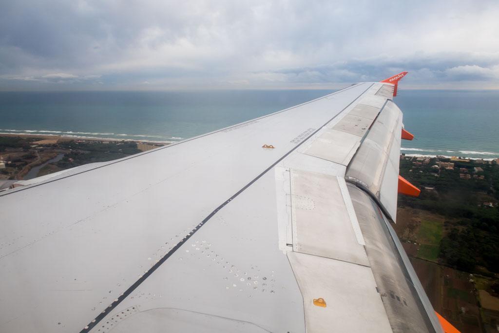 Approaching Barcelona El Prat Airport Onboard easyJet