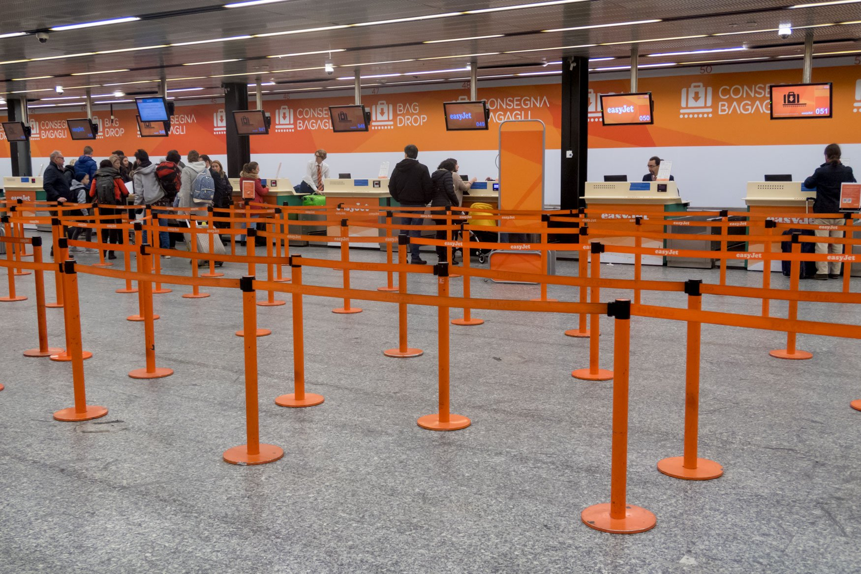check in easyjet gatwick to milan - photo#21
