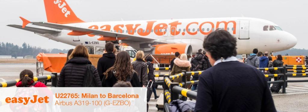 Flight Review: easyJet A319 Economy Class from Milan Malpensa to Barcelona El Prat