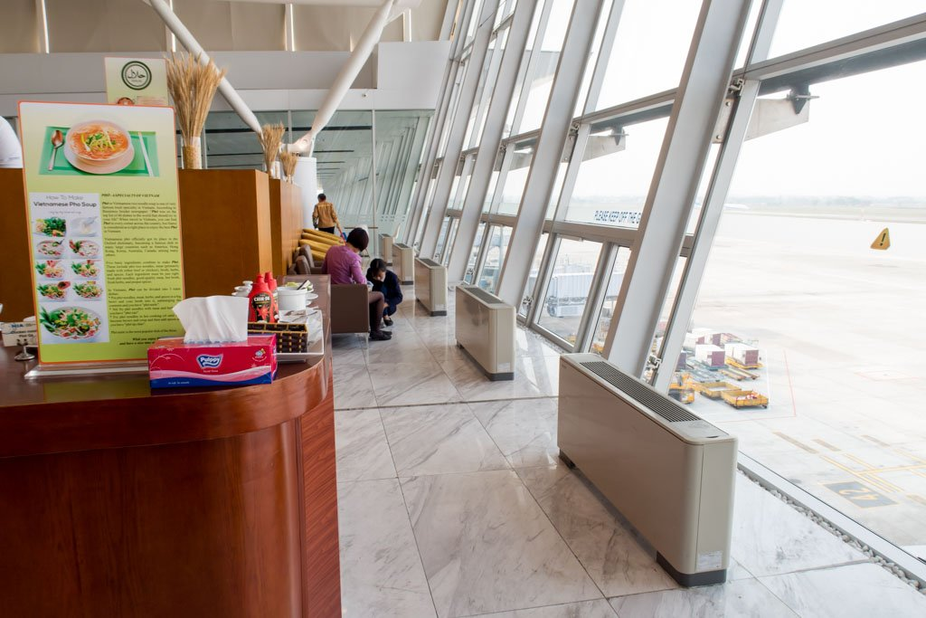 ACV Business Lounge Hanoi Seating Area Overlooking Apron