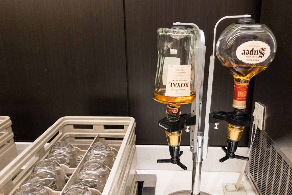 ANA Lounge Domestic Whisky