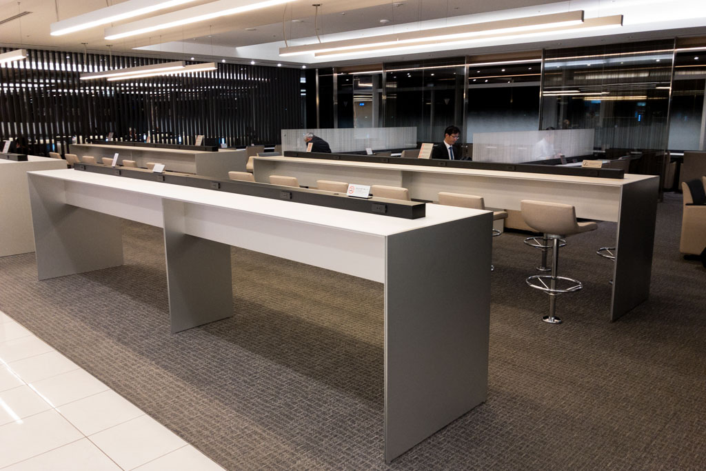 Counters ANA Lounge