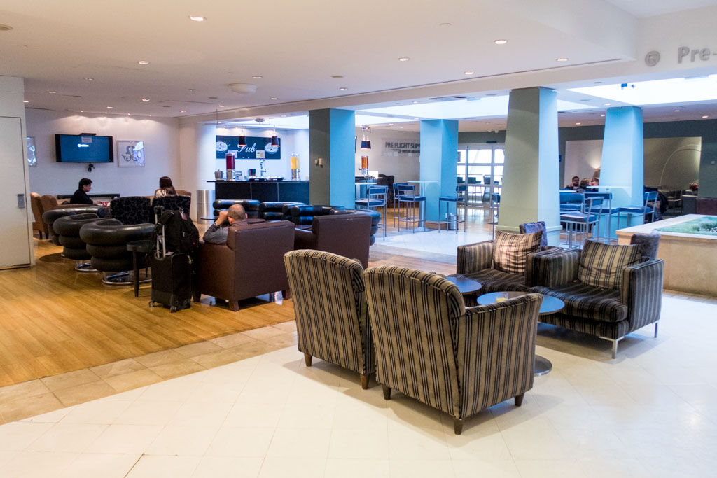British Airways Lounge JFK Seating
