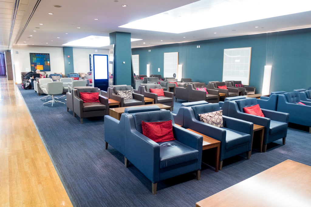 British Airways Galleries Lounge Seating