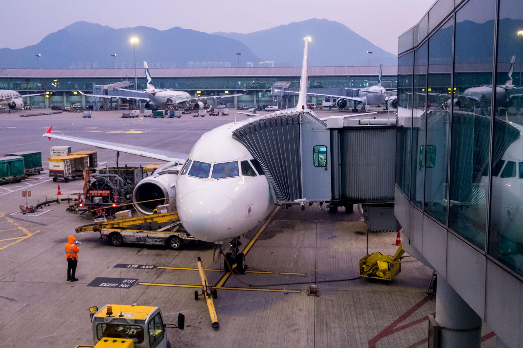 Cathay Dragon Airbus A320