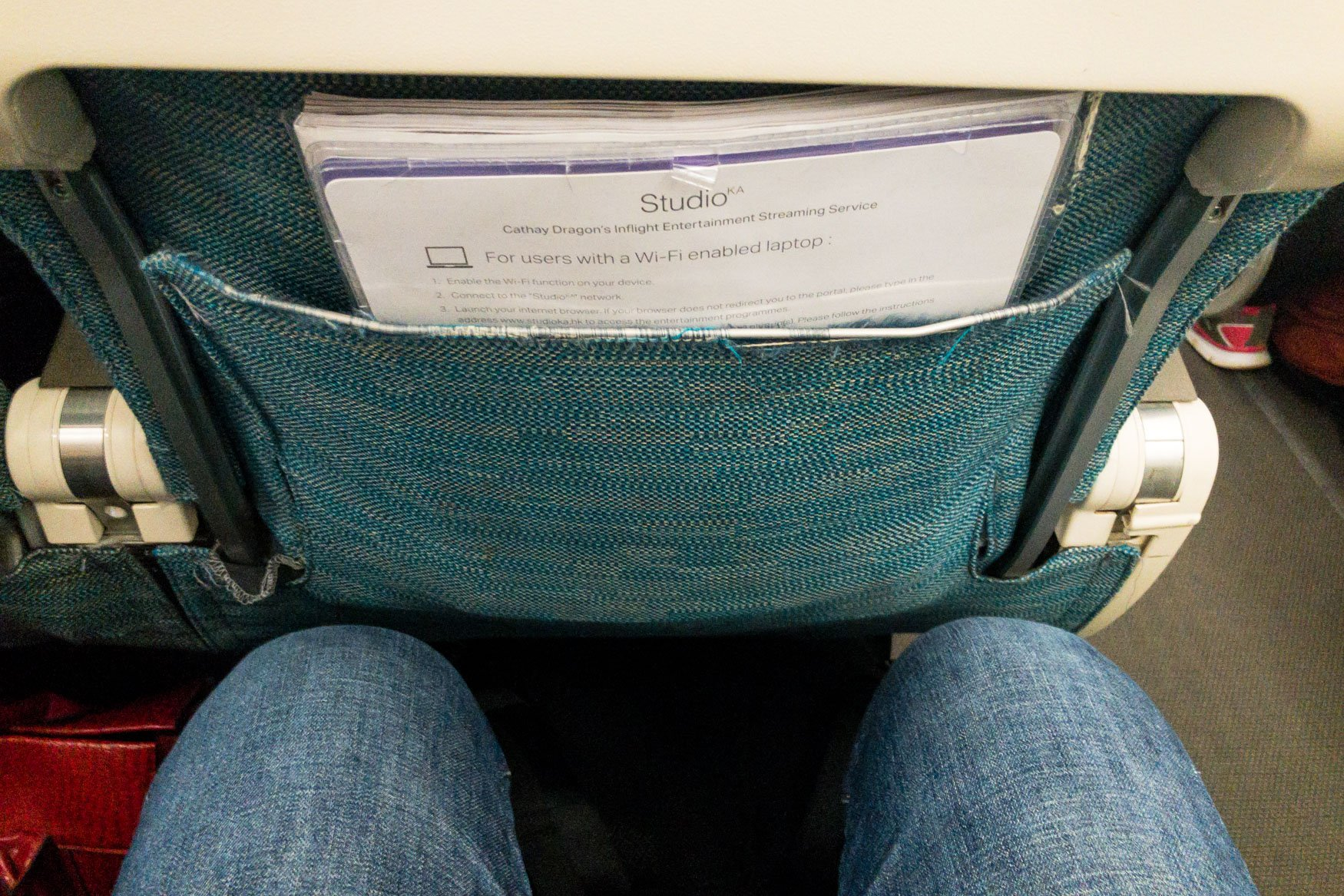 Cathay Dragon A320 Seat and Legroom
