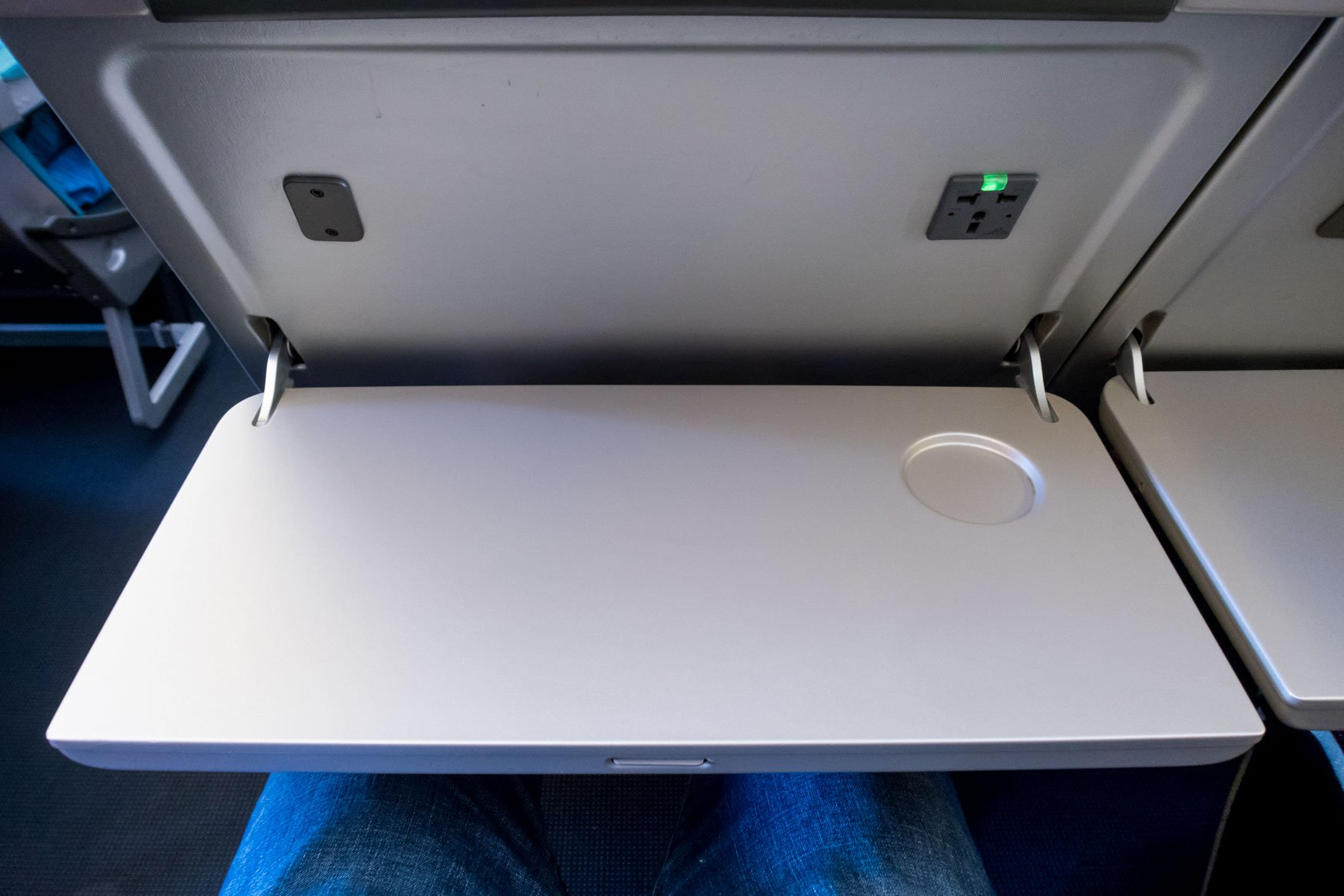 Cathay Pacific 777 Tray Table