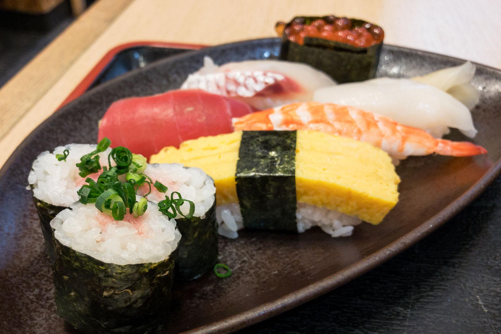 Narita Airport Sushi Restaurant